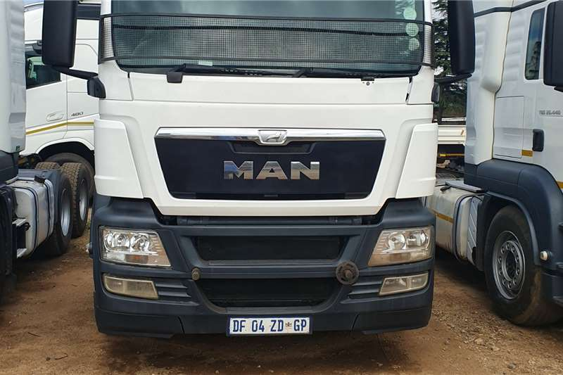 MAN Truck-Tractor Double axle TGS 27 480 2014
