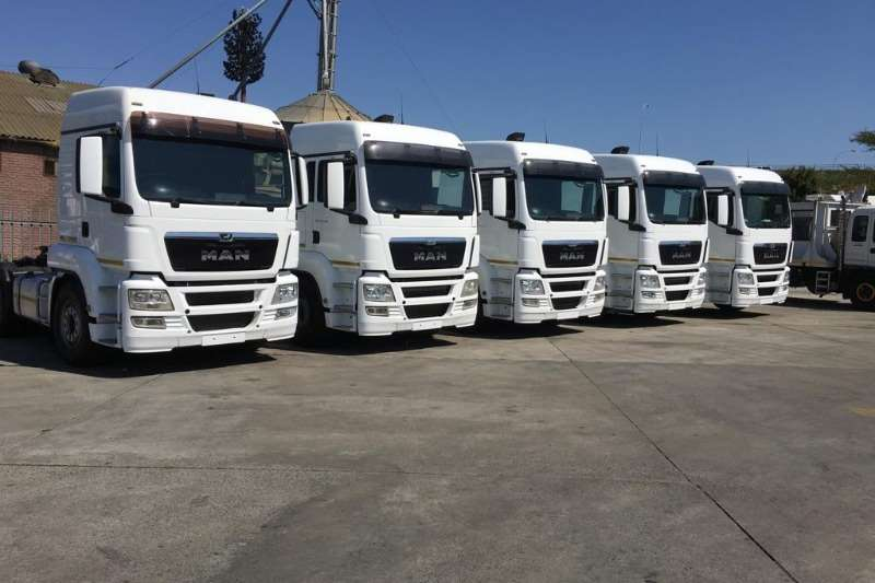 MAN Truck-Tractor Double axle TGS 27 480 BBS LX 2016
