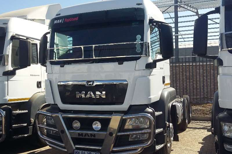 MAN Truck-Tractor Double axle TGS 27 480 BBS LX 2017