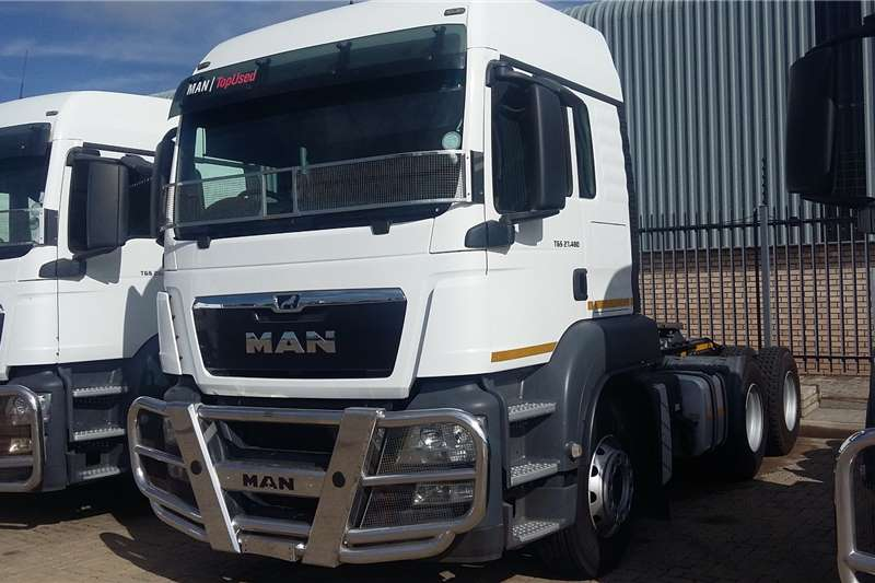 MAN Truck-Tractor Double axle TGS 27 480 BBS LX 2018