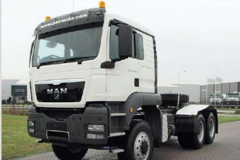 MAN Truck-Tractor Double axle TGS 40.480 BBS WW 6X6 EURO 2 2013