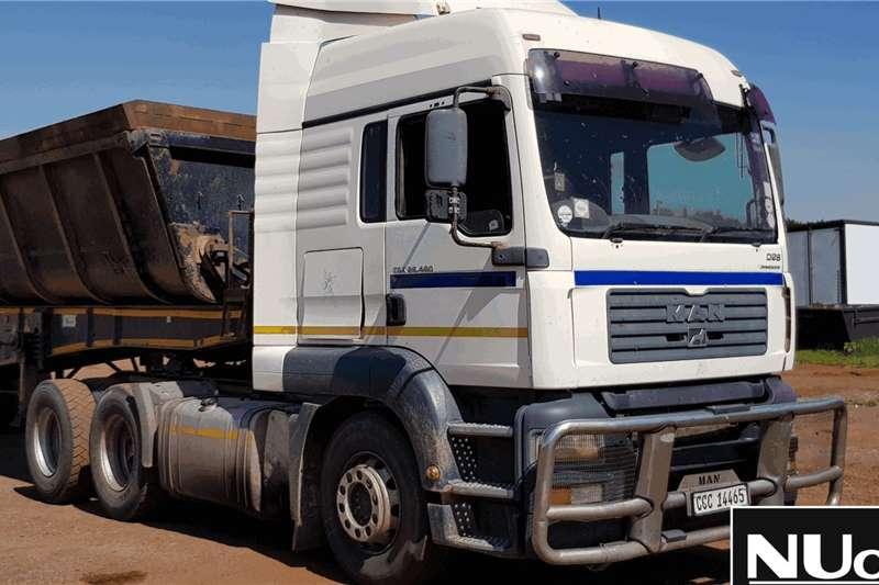 MAN Truck-Tractor MAN TGA26 480 D26 COMMONRAIL 6X4 HORSE