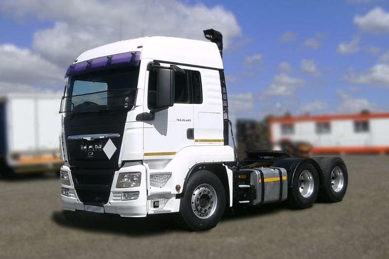 MAN Truck-Tractor MAN TGS 26.480 2011