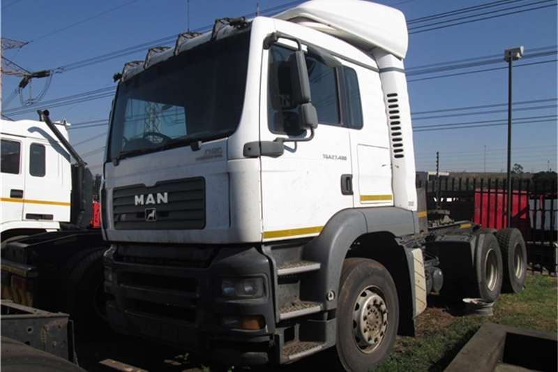 MAN Truck-Tractor TGA 27 400 D20 2007