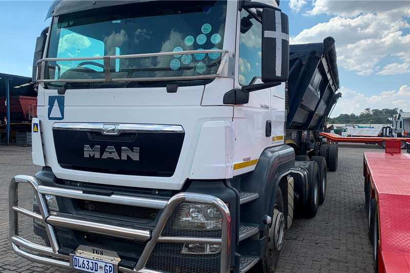 MAN 2014 MAN TGS 27.480 Truck tractors
