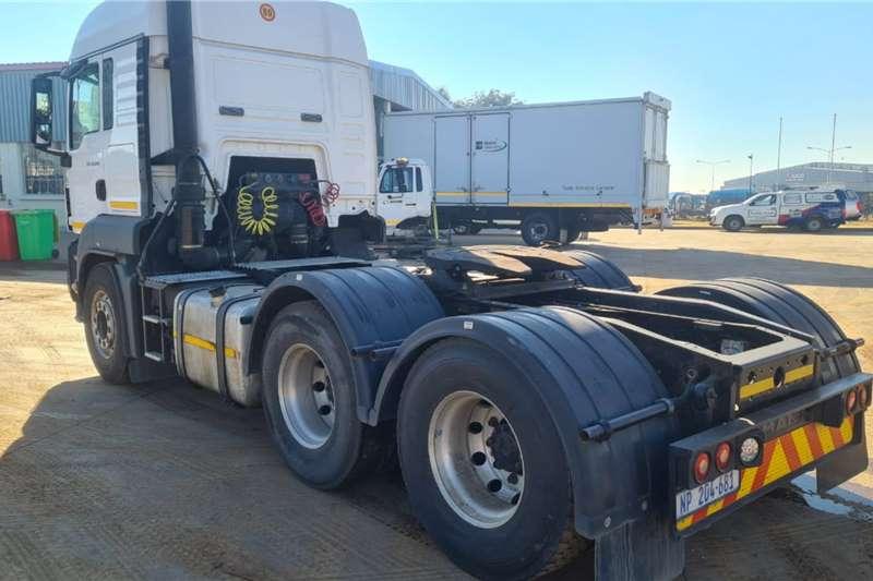 MAN 2014 MAN TGS26.440 6x4 TT, FSH, Aluminum rims Truck tractors
