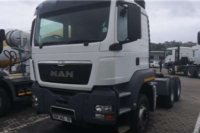 MAN Double axle 2014 man tgs 33 440, with hydraulic Truck tractors