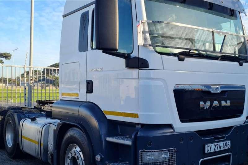 MAN Double axle 2015 MAN TGS 26.440 BLS LX 6x4 T/T CC Truck tractors