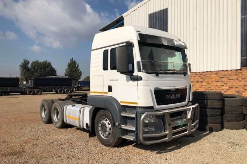 MAN Truck tractors Double axle TGS 26.440 6x4 T/T 2015