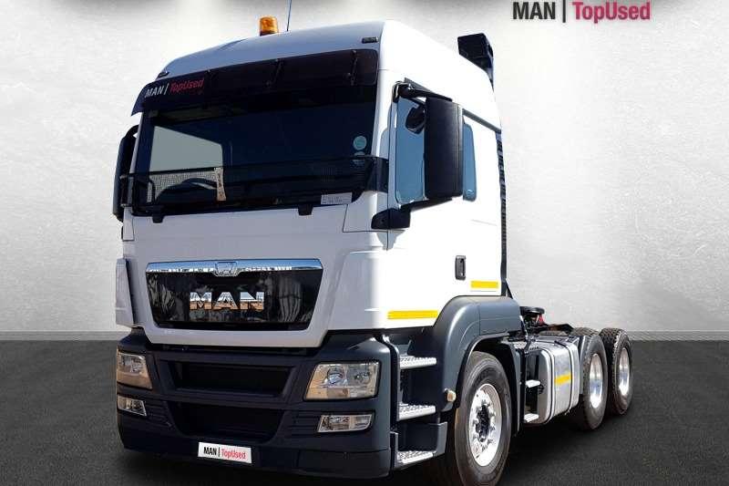 MAN Truck tractors Double axle TGS 26 440 BLS LX 6X4 2015