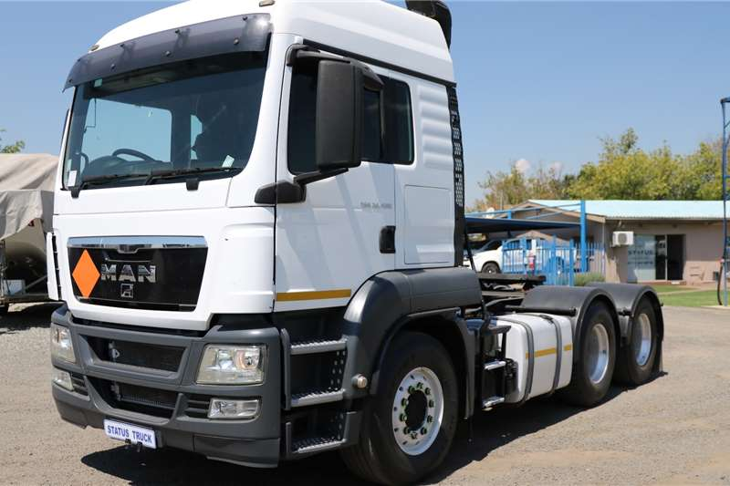 MAN Truck tractors Double axle TGS 26 480 2013
