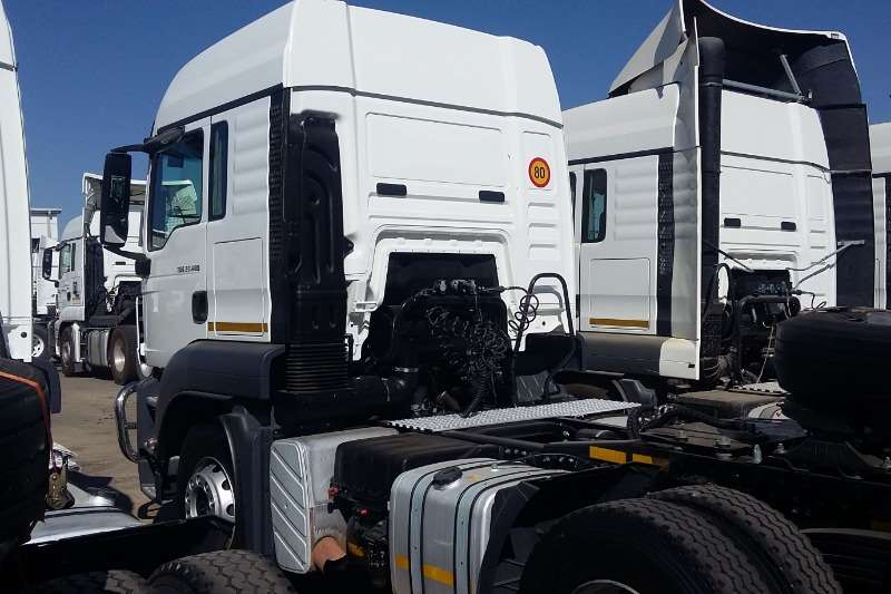 MAN Double axle TGS 27 480 BBS LX Sleep Truck tractors