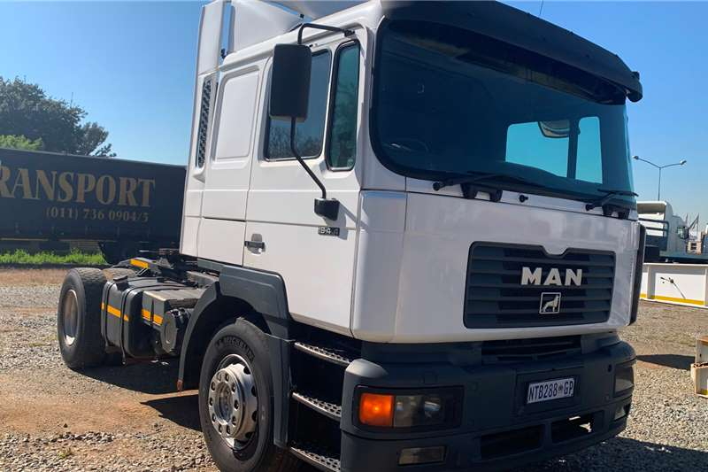 MAN Truck tractors Single axle 2002  MAN 19 414 2002