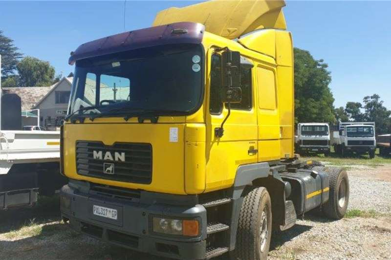 MAN Truck Tractors Single Axle 2004 MAN 19-414 2004