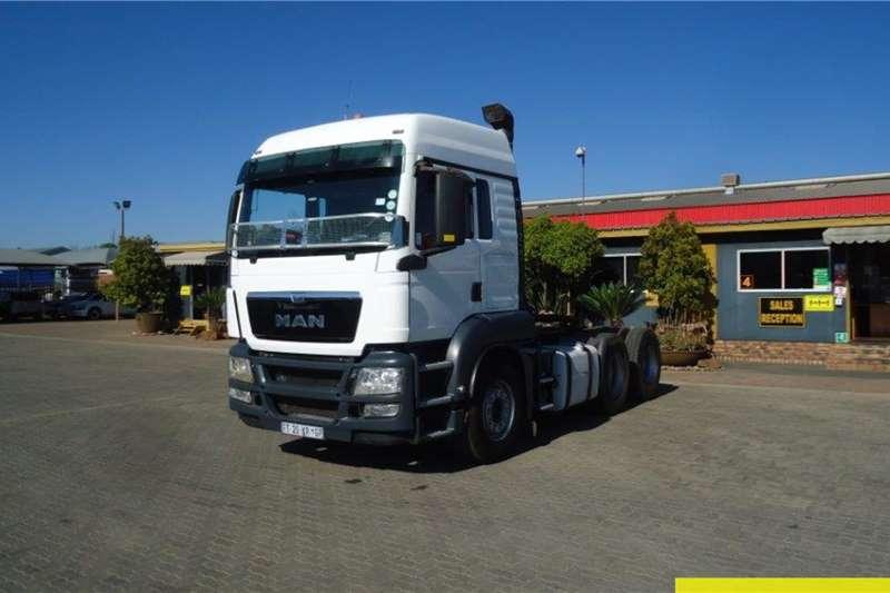 MAN TGS26 440 6x4 Horse Truck tractors