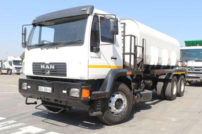MAN Truck Water tanker 26 280 Water Tanker 2015