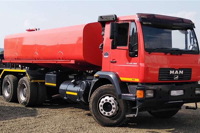 MAN Water bowser trucks MAN CLA26.280 WATER BOWSER 2015