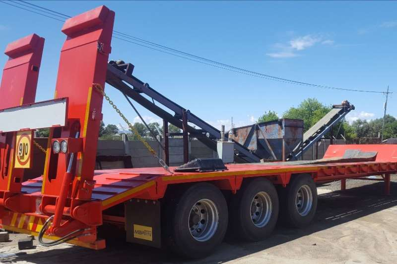 Martin Lowbeds To Hire: 30 Ton Lowbed Trailer 2019