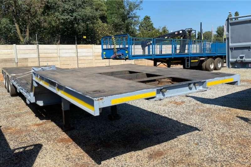 Martin Trailers Lowbed 40ton Tri Axle Lowbed Trailer 2005