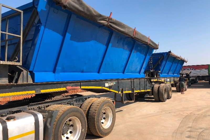 Martin Trailers SIDE TIPPER TRAILER 40 CUBE 2011