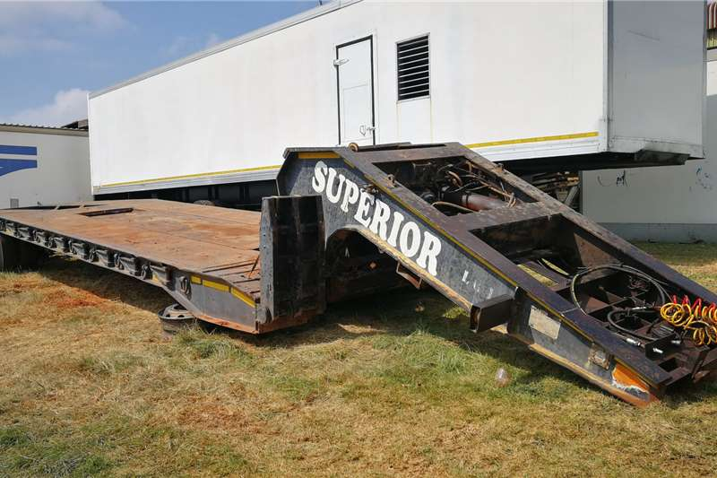 Martin Stepdeck Lowbeds & Dollies Trailers