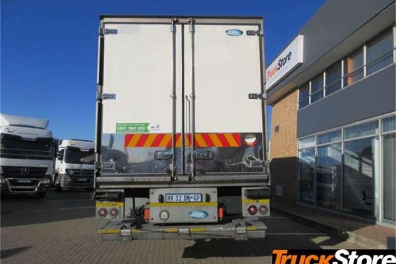 Mercedes Benz Actros 2636L/57 FRIDGE BODY Truck