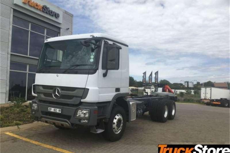Mercedes Benz Actros Truck 3344/45 C/C 2014