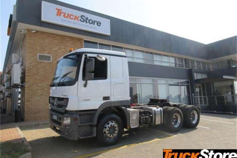 Mercedes Benz Actros 2641LS/33 DD LS Truck tractors