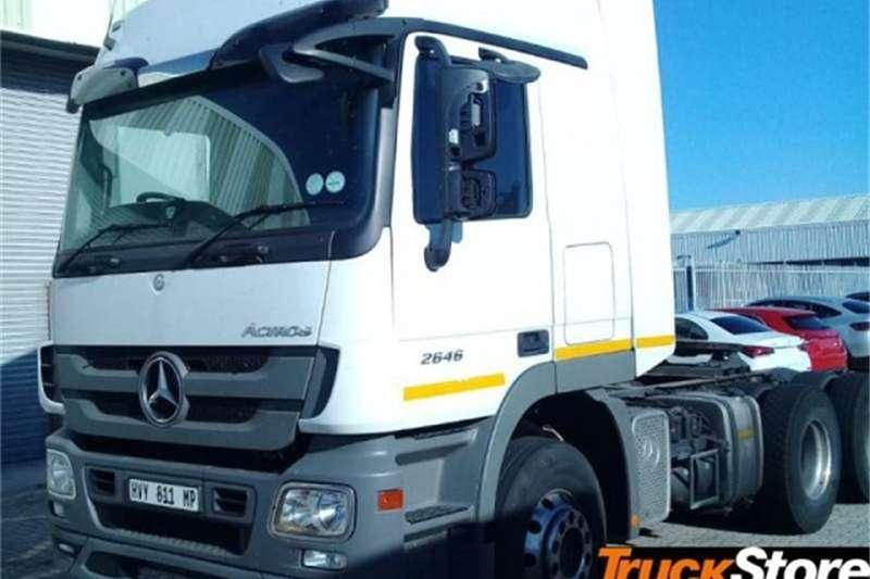 Mercedes Benz Actros Truck tractors 2646LS/33 DD 2015