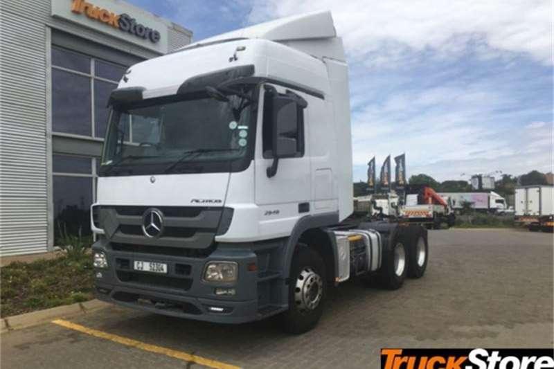 Mercedes Benz Actros Truck tractors 2646LS/33 DD LS 2015