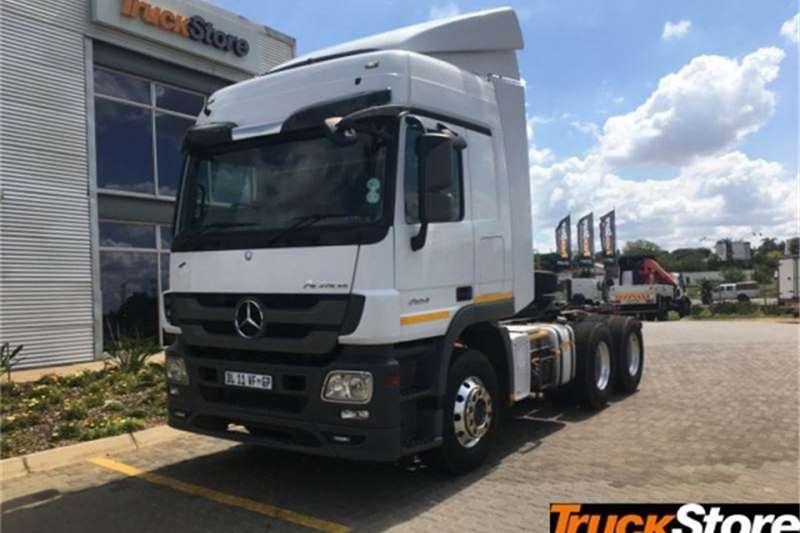 Mercedes Benz Actros Truck tractors 2654LS/33 HYP 2014