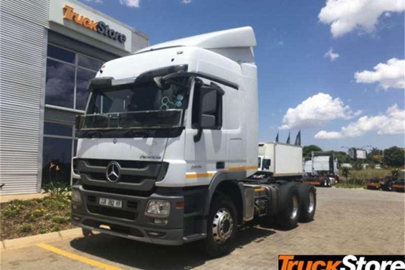 Mercedes Benz Actros Truck tractors 3 2646LS/33 DD LS 2017