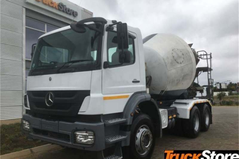 Mercedes Benz Axor Truck 2628B/33 CONCRETEM 2014