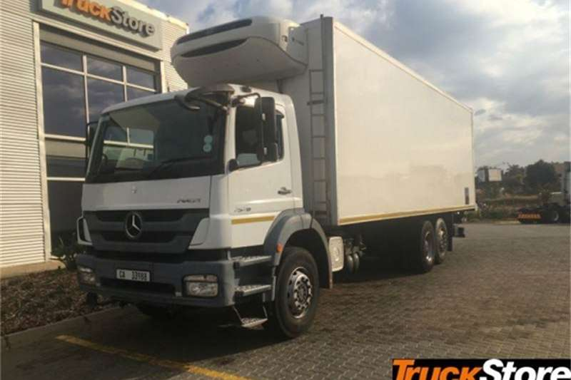 Mercedes Benz Axor Truck Neu 2528L/51 FRIDGE BO 2013