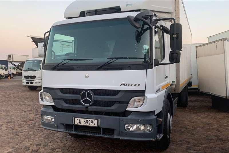 Mercedes Benz Atego 1528/54 F/C Volume Van Box trucks