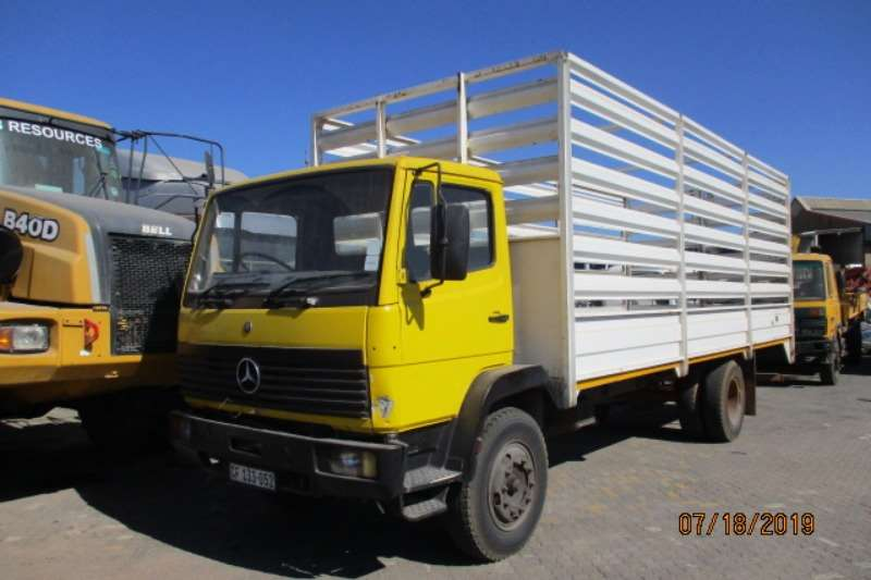 Mercedes Benz Cattle body trucks MERC BENZ ATEGO 1114 CAGE BODY 1999
