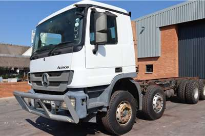 Mercedes Benz Actros 4144K/51 8x4 Chassis cab trucks