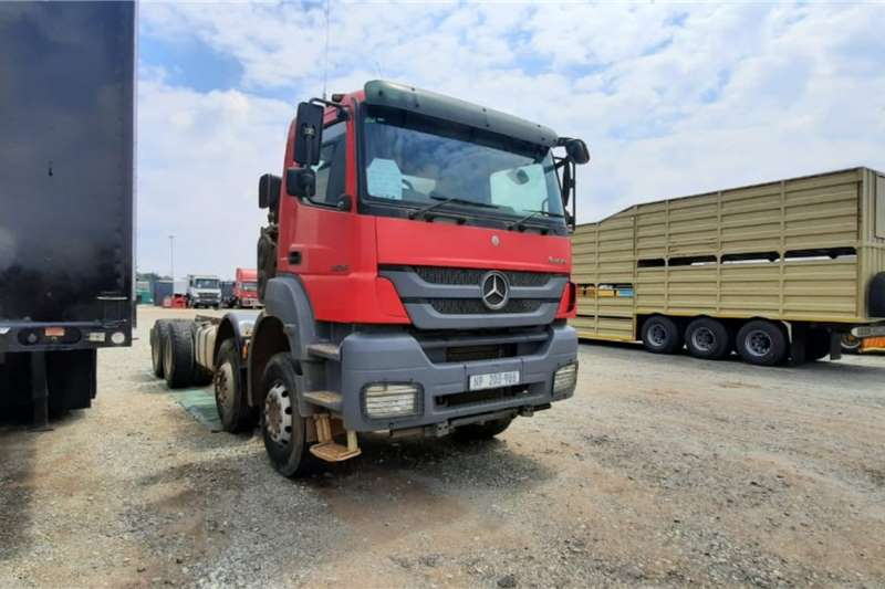 Mercedes Benz Chassis cab trucks Axor 3535 8x4 Rigid Chassis Cab 2014