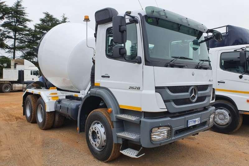Mercedes Benz Concrete mixer trucks Axor 2628 2015