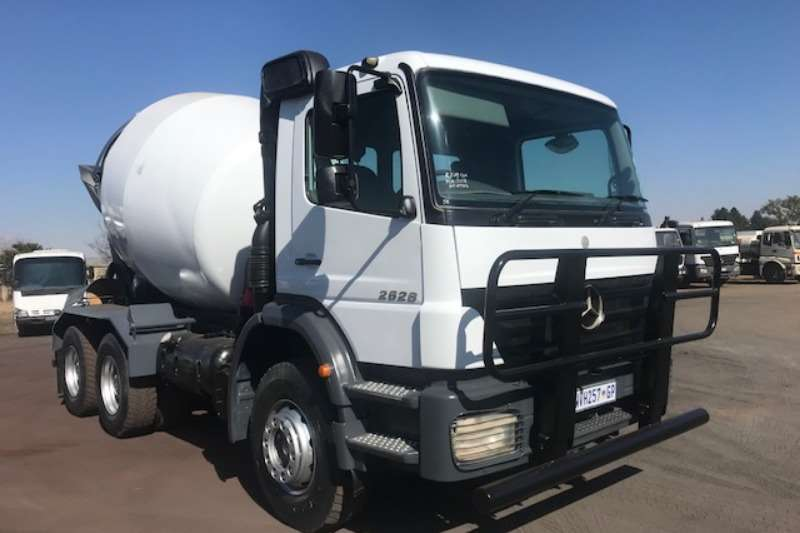 Mercedes Benz Concrete mixer trucks Mercedes Benz AXOR 2628 CONCRETE MIXER 2008