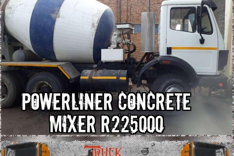 Mercedes Benz Concrete mixer trucks Mercedez Powerliner Concrete mixer