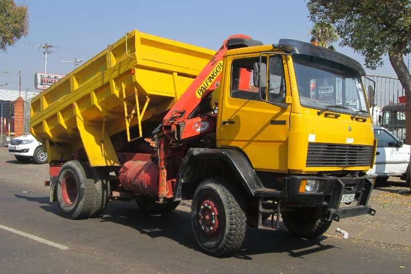 Mercedes Benz Crane trucks 1617 1996