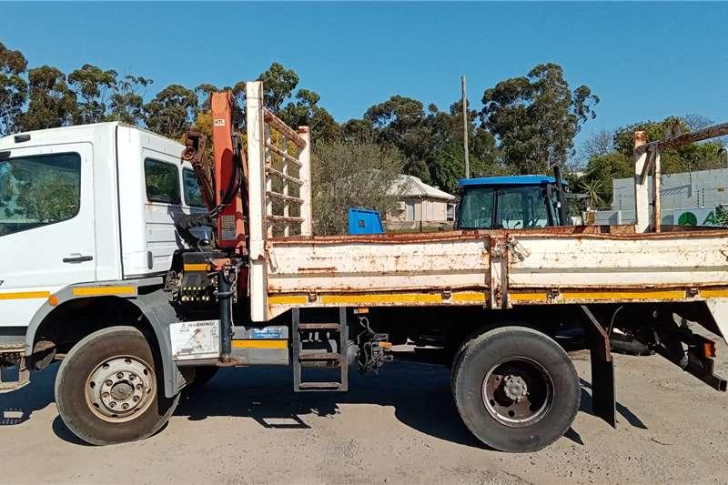 Mercedes Benz Mercedes Benz Atego 1517 4x4 Crane trucks