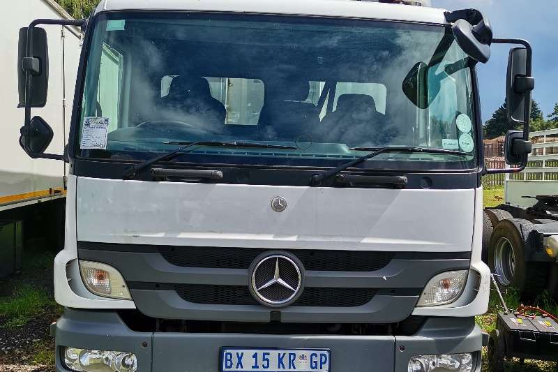 Mercedes Benz Mercedes Benz Atego 1523 Tautliner Curtain side trucks