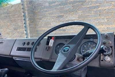Mercedes Benz Mercedes Benz Econoliner With 8Ton Crane Dropside trucks