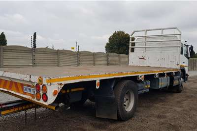 Mercedes Benz 1523 Semi sleeper, low km Flatbed trucks