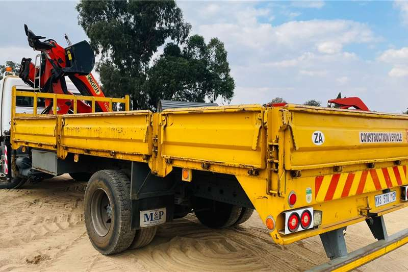Mercedes Benz Atego 1517 Flat Deck & Crane Flatbed trucks