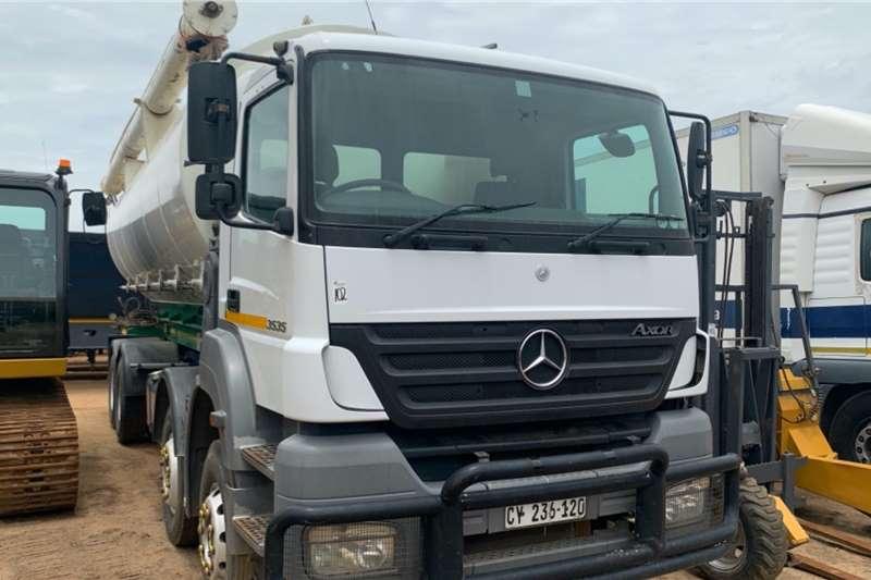 Mercedes Benz Grain carrier trucks AXOR 3535 8X4 GRAIN CARRIER 2010
