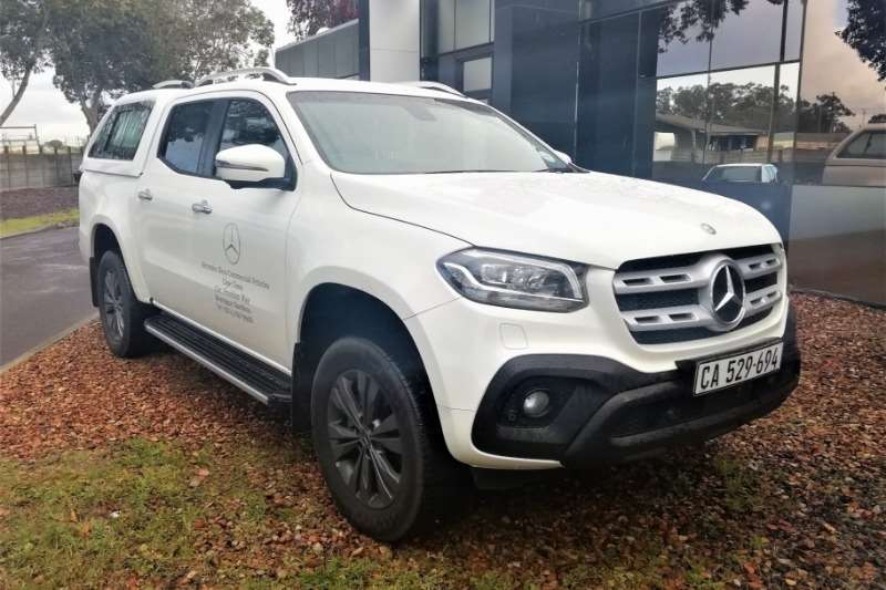 Mercedes Benz LDVs & panel vans Demo, X Class 220d 4x2 MT 2018