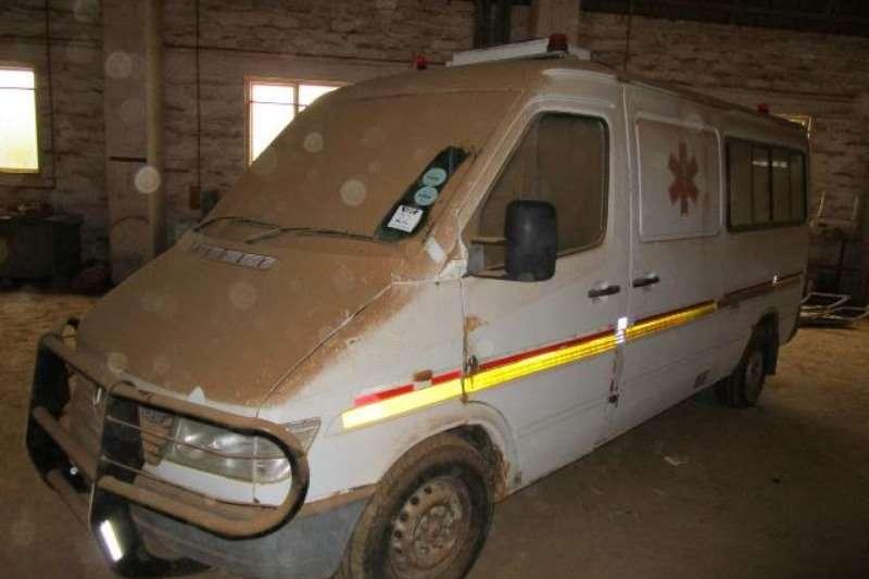 Mercedes Benz LDVs & panel vans Mercedes Benz 312DPV Ambulance
